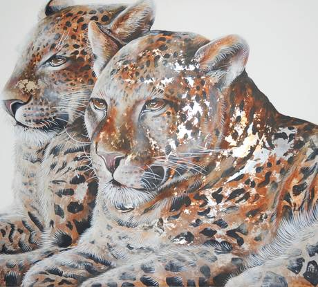 Leopards Portrait